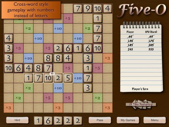 Five-O Lite iPad Screenshot 1