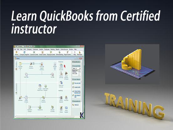 Quickbooks 08 HD Video Training iPad Screenshot 1