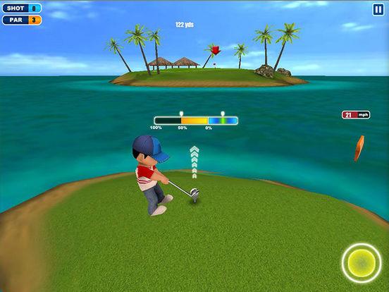 Ace Golf 3D HD iPad Screenshot 1