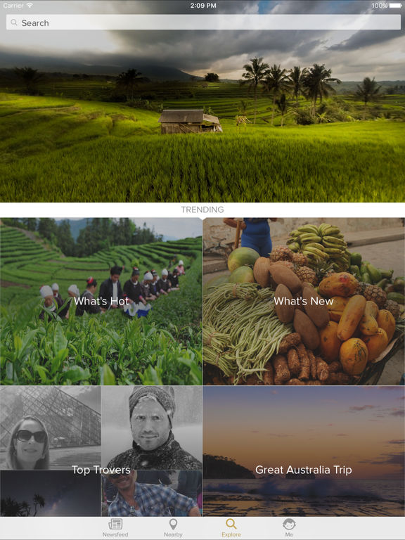 Trover - The Photo App for Travelers Screenshot