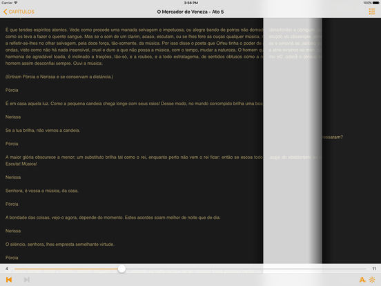 O Mercador de Veneza - William Shakespeare iPad Screenshot 2