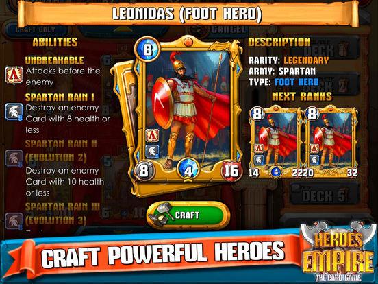 Heroes Empire: TCG для iPad