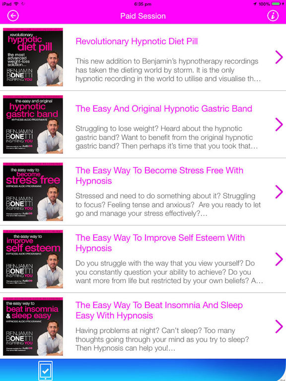 The Easy Way to Lose Weight with Hypnosis Screenshots