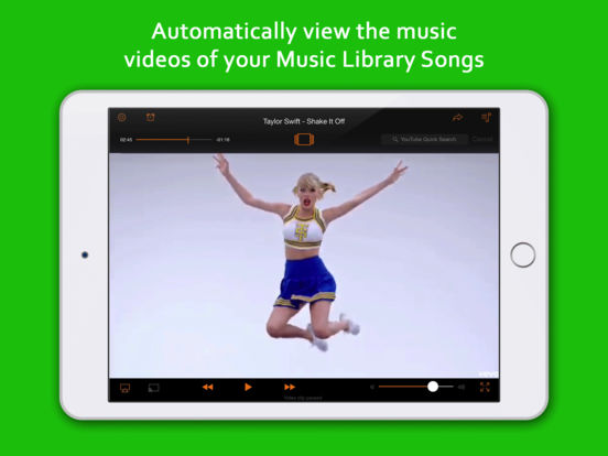 Screenshots of Music TV - Free streamer & player for your songs (for YouTube)! for iPad