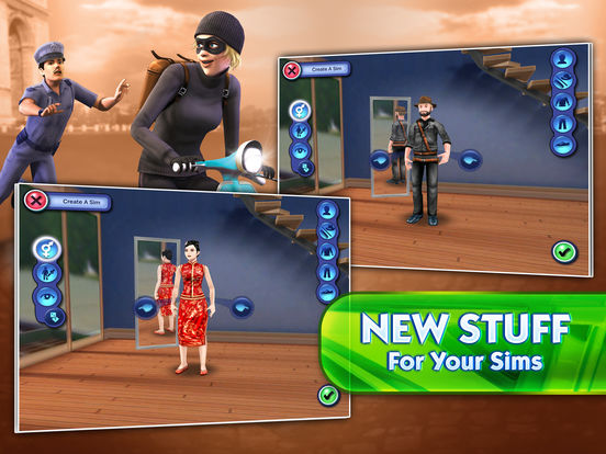 The Sims 3 World Adventures iPad Screenshot 2