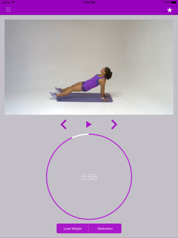 Full Body Workout Routine Total Fitness Exercise Screenshots