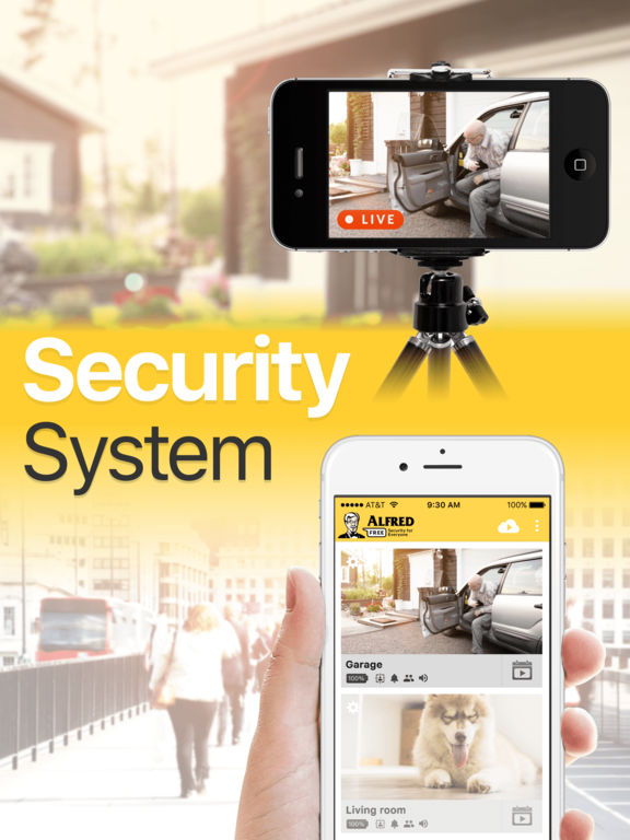 Alfred - Home Security Surveillance IP Camera screenshot