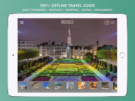 Brussels Travel Guide iPad Screenshot 1