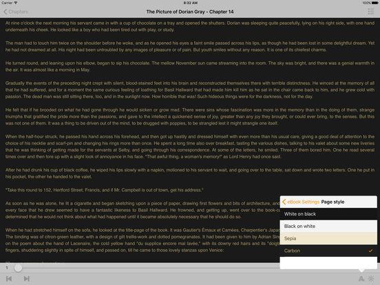 The Picture of Dorian Gray - Oscar Wilde iPad Screenshot 1
