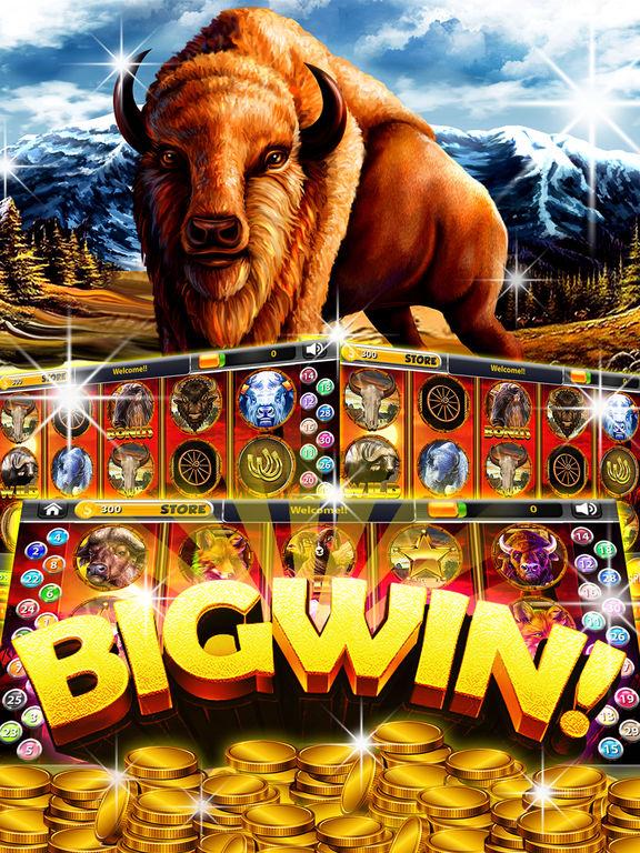 buffalo slot machine payout