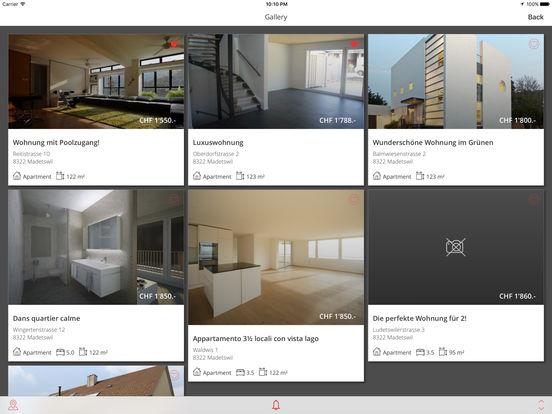 homegate.ch iPad Screenshot 4