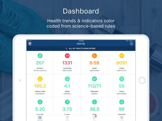 Tactio Health screenshot