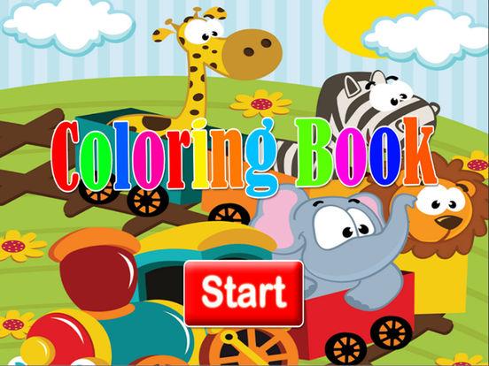 Мультфильмы Книжка-раскраска для ребенка Скриншоты7