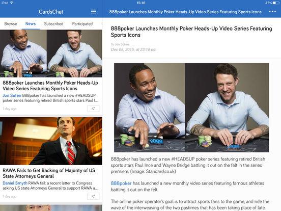 CardsChat screenshot