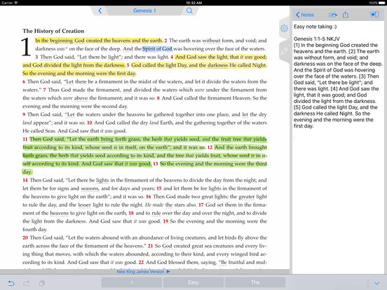 NKJV Bible iPad Screenshot 5