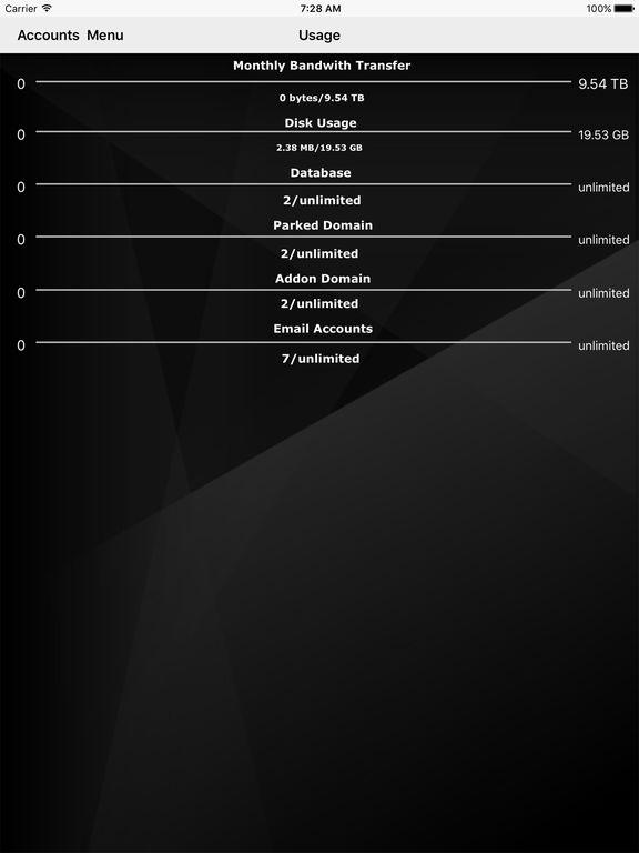HostCP (for cPanel®) Screenshots