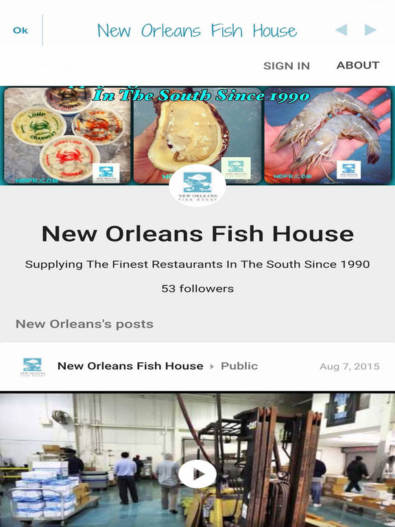 App shopper new orleans fish house business for New orleans fish house