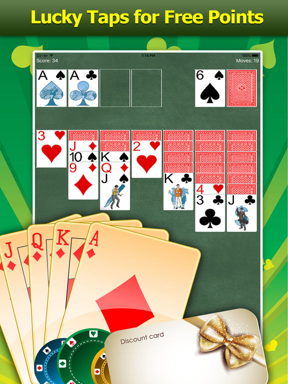 Reward App Solitaire - Gifts and Cash!-ipad-3
