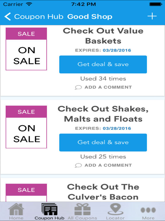 Culvers online coupons