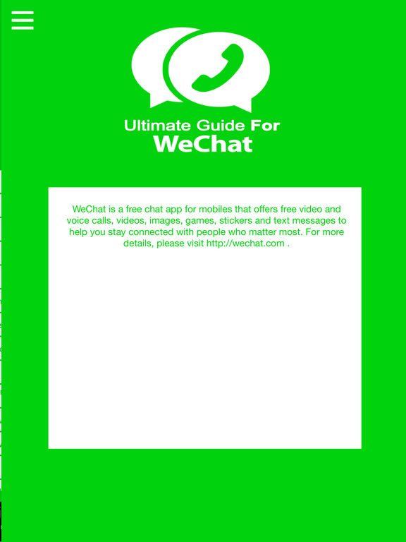 App Shopper: Ultimate Guide For WeChat (Reference)