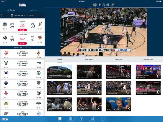 NBA Game Time 2010-2011 iPad Screenshot 1