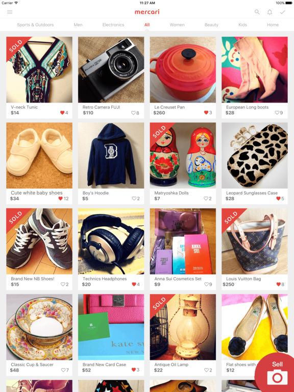Mercari: Shopping Marketplace to Buy & Sell Used screenshot