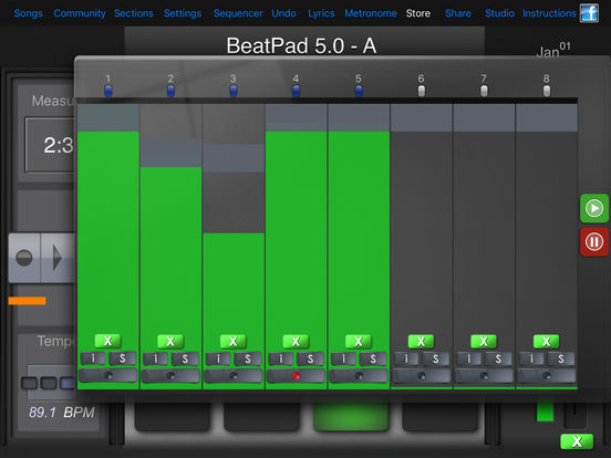 BeatPad iPad Screenshot 4
