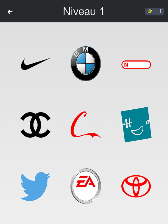 Logos Quiz -Guess the most famous brands, new fun!screeshot 1