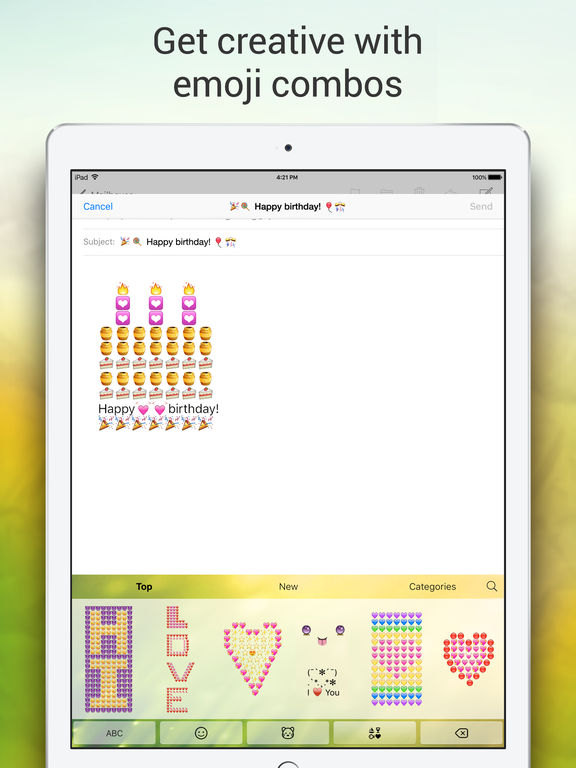 Emoji Keyboard for Me - Keyboard Themes & Emojis Screenshot