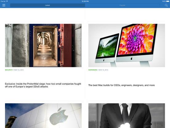 TechRepublic iPad Screenshot 1