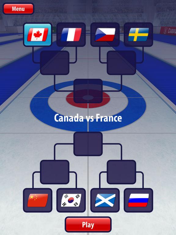 Curling3D HD Screenshots