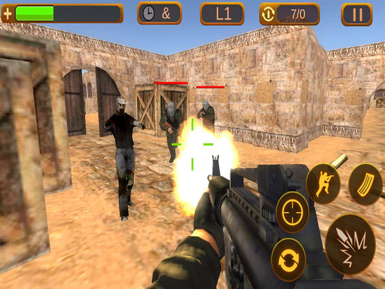 Online browser shooter games multiplayer