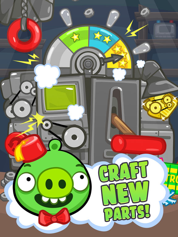 Screenshot #3 for Bad Piggies HD