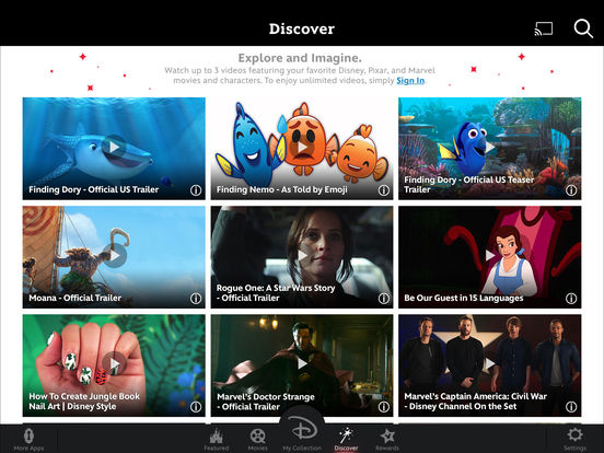 Disney Movies Anywhere – Watch Your Disney, Pixar and Marvel Movies! screenshot