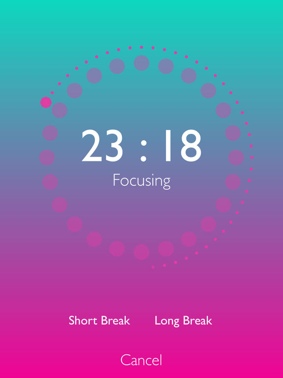 FocusDots: A Timer That Increase Your Productivity Screenshots