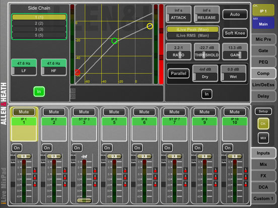 iLive MixPad iPad Screenshot 4