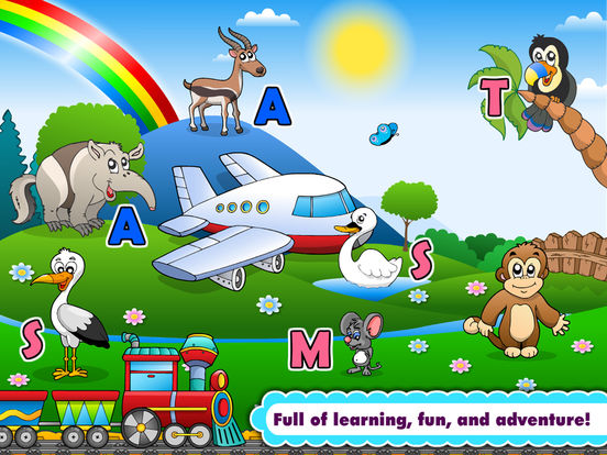 Kids phonics a z alphabet letter school learning on the app store