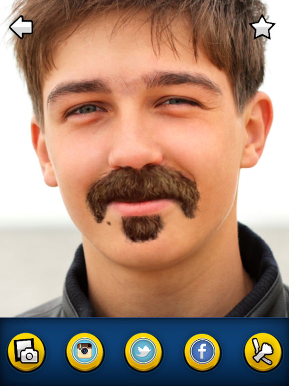 Fake Mustaches - Grow Realistic & Funny Beards Screenshots