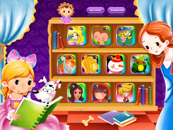 10 Classic Fairy Tales - Interactive Books iBigToy Screenshots