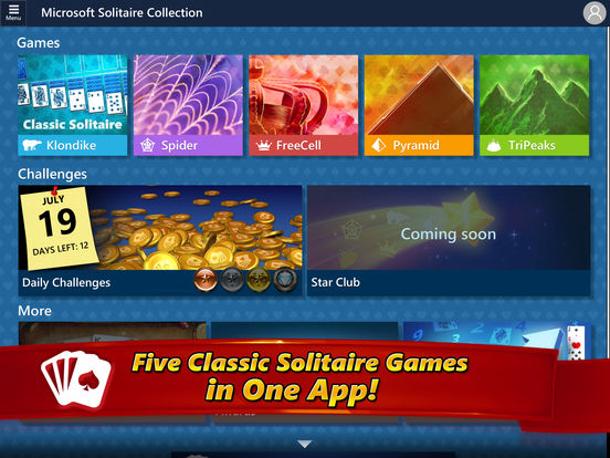 sc552x414 Microsoft Released Solitaire Game On iOS And Android, Download Now
