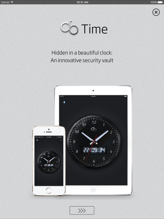 cb Time - Secure Safe hidden in an Clock Screenshots