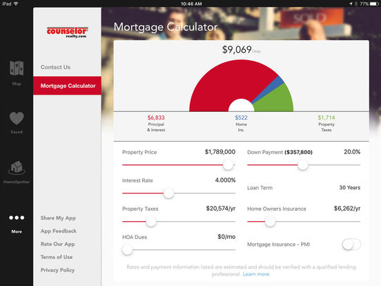 Counselor Realty - Home Search Minnesota Real Estate iPad Screenshot 4