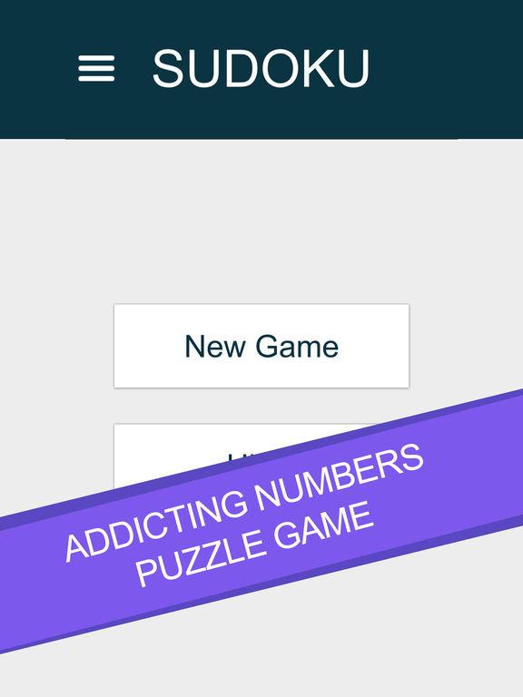 Игра Sudoku - Numbers Puzzle