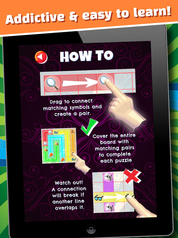 The Secret Mystery Clue Line - FREE - Detective Seek & Find Object Match Up-ipad-4