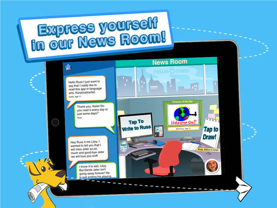 News-O-Matic, Daily Reading for Kids screenshot