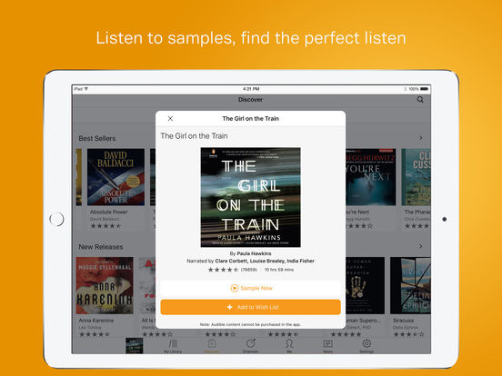 audible audio books review