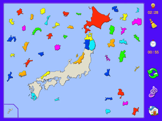 Japan Puzzle Map iPad Screenshot 4
