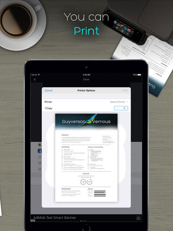 QuickScanner: OCR PDF Scanner & Printer for Documents Emails Receipts Screenshots
