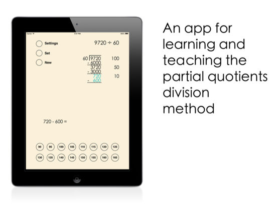 Partial Quotients Division on the App Store – Partial Quotient Division Worksheets