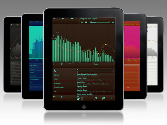 EQu - the quality equalizer iPad Screenshot 4
